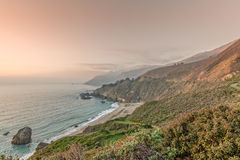 Rugged California Big Sur Coast Stock Image
