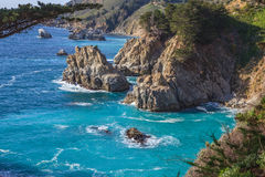 Rugged California Coast Landscape Royalty Free Stock Photography