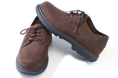 Rugged casual shoes Royalty Free Stock Images