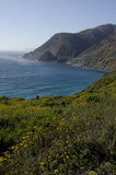 Rugged Central Coast Stock Image