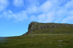Rugged Cliffs and Landscape on Skye Scotland Royalty Free Stock Photo