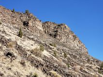 Rugged cliffs royalty free stock image