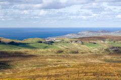 Rugged Co. Donegal Landscape, Ireland Stock Photos