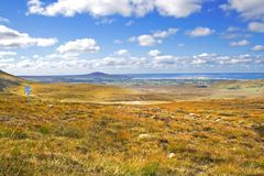 Rugged Co. Donegal Landscape, Ireland Royalty Free Stock Photo