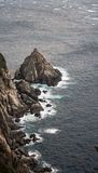 Rugged coast of japan Stock Image