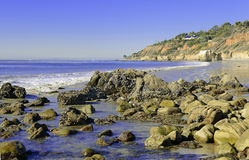 Rugged Coast of Southern California Royalty Free Stock Photography