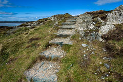 Rugged Coastal Footpath Royalty Free Stock Photo