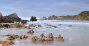 Rugged coastline. Stock Photo