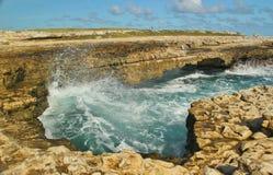 Rugged coastline Stock Images