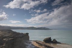 Rugged Coastline. A rugged coastline stock images