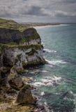 Rugged Coastline, Antrim Royalty Free Stock Images