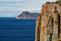 Rugged coastline cliffs Royalty Free Stock Image
