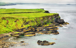 Rugged coastline of Ireland island Royalty Free Stock Images
