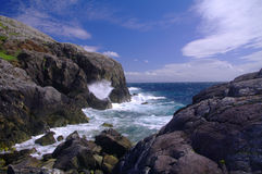 Rugged coastline Isle of Lewis Outer Hebrides Royalty Free Stock Image