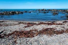 Rugged coastline of Kaikoura, New Zealand Stock Photo