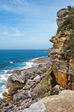 Rugged Coastline of Manly Royalty Free Stock Photos