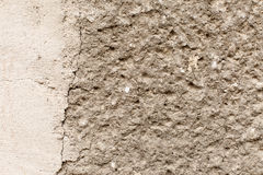 Rugged concrete wall Royalty Free Stock Photography