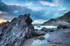 Rugged Cornwall Coast Royalty Free Stock Images