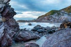 Rugged Cornwall Coast Royalty Free Stock Photos