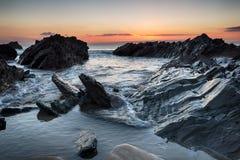 Rugged Cornwall Coast Stock Photo