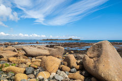 Rugged foreshore. Royalty Free Stock Photos