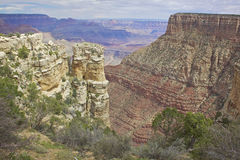 Rugged Grand Canyon Royalty Free Stock Photos