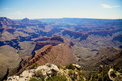 Rugged Grand Canyon Scenic Stock Image