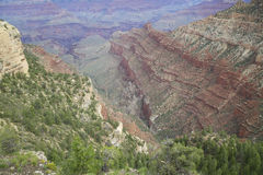 Rugged Grand Canyon Vista Royalty Free Stock Photo