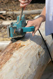 Rugged hand-electric tools 2. Rugged hand-electric tools industries Stock Photos