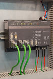 Industrial Ethernet communications. Rugged Industrial Ethernet communication in automation process Royalty Free Stock Photography
