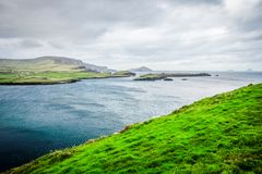 Rugged Irish Coast Stock Photo