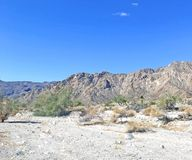 Rugged La Quinta Cove Outback royalty free stock photo