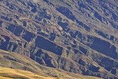 Haleakala Volcano Maui. The rugged landscape of the haleakala volcano from the Hana highway Maui Royalty Free Stock Photo
