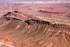 Rugged Landscape of Nevada Desert Stock Image