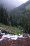 Rugged landscape in San Juan Mountains in Colorado royalty free stock photo