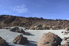 Rugged landscape on Tenerife Royalty Free Stock Photo