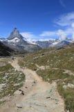 Rugged landscape in Zermatt Royalty Free Stock Image