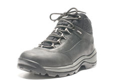Rugged lightweight hiking shoe boot Royalty Free Stock Photography