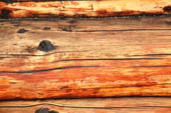 Rugged log background Royalty Free Stock Images