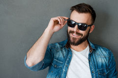Rugged and manly. Stock Images