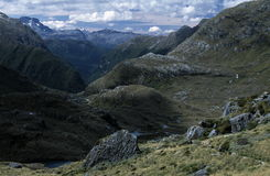Rugged Mountain Landscape Royalty Free Stock Images