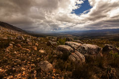 Rugged mountain landscape Royalty Free Stock Photos
