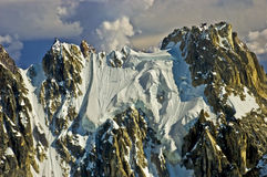 Rugged Mountain Peak Stock Images