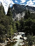 Kings River, Kings Canyon, California stock images