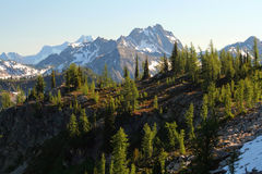 Rugged Mountain Range Stock Photo