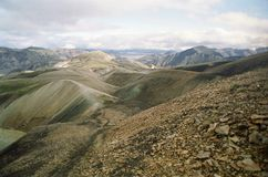 Rugged mountainous landscape Royalty Free Stock Images