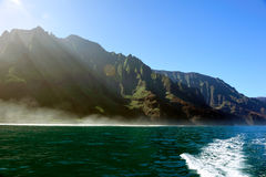 Rugged Napali Coastline Of Kauai, Hawaii, USA. Stock Images