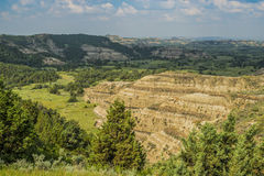 Rugged North Dakota Badlands Stock Photos