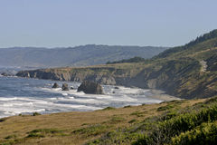 Rugged Pacific Coastline Stock Photos