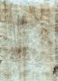 Rugged paper. Old rugged paper with dirt Royalty Free Stock Images